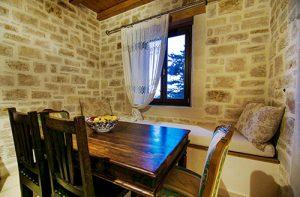 Dining area-kitchen